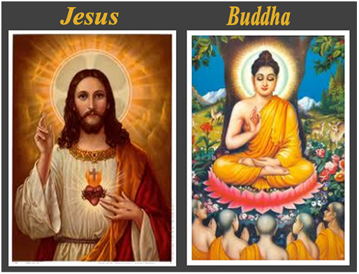 jesus and buddha The hardcover of the the lifetimes when jesus and buddha knew each other: a history of mighty companions by gary r renard at barnes & noble free.